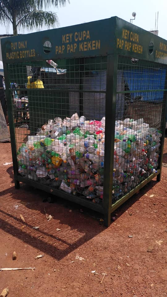 plastic bank in Gulu