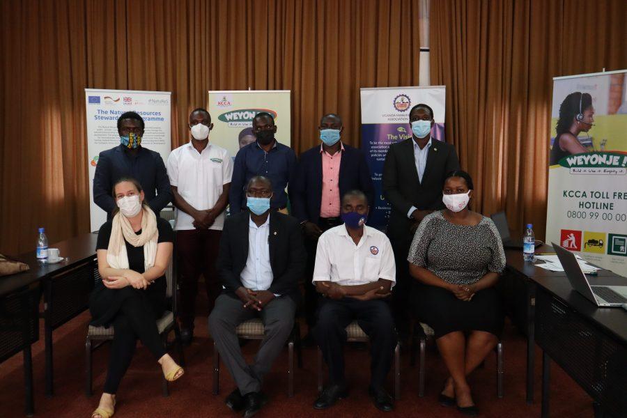 First partnership meeting of the Integrated Flood Resilience Partnership Kampala