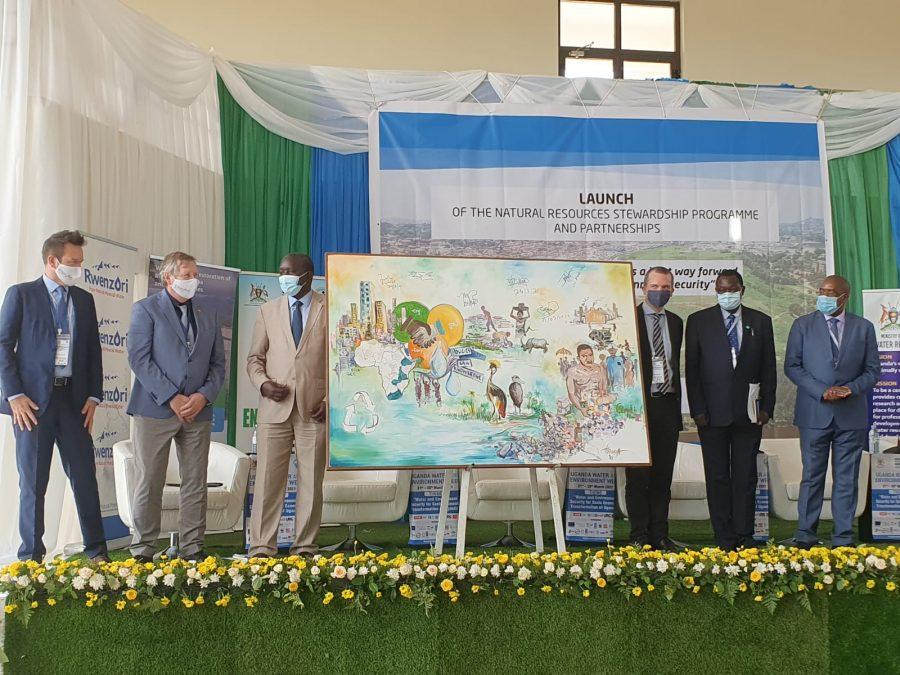 Launch of NatuReS Uganda and presentation of artpiece