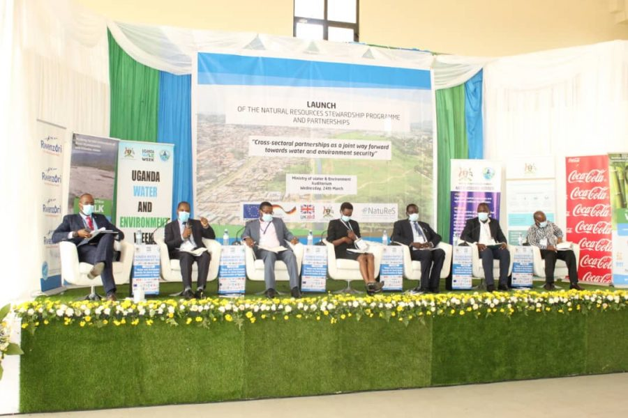 Partnership members during panel discussion during NatuReS launch