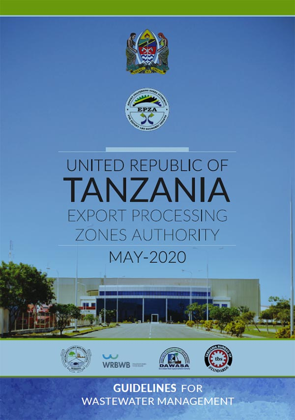 Tanzania - The frontpage of the guidelines document